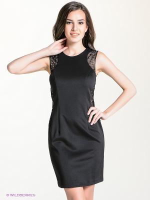 Платье bebe. Цвет: черный