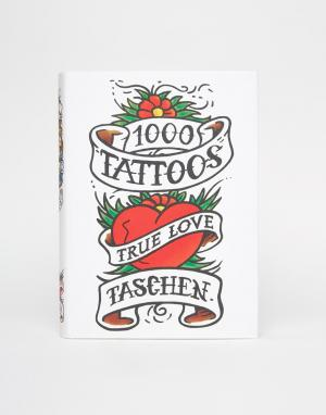 Books Книга «1000 татуировок. Цвет: мульти