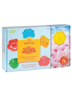 Чудо-набор для творчества мыло ванны Цветочные мотивы, большой набор Master IQ2 165