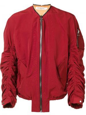 Куртка-бомбер Shell Mr. Completely. Цвет: красный