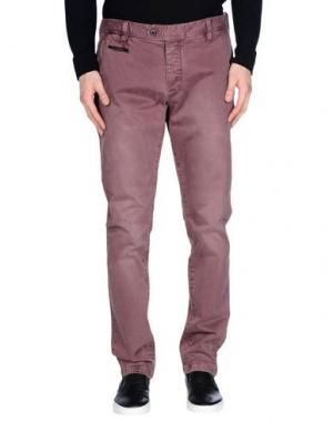 Повседневные брюки AT.P.CO. Цвет: розовато-лиловый