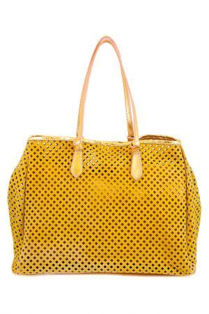 Сумка Vera bags. Цвет: золотой