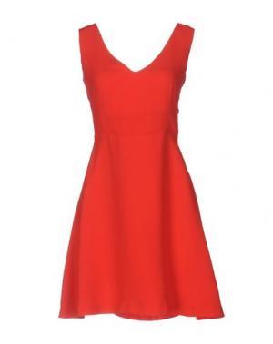 Короткое платье EMMA&GAIA. Цвет: красный