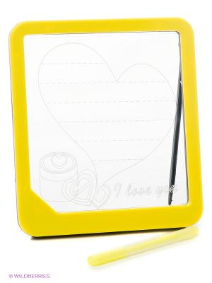 Доска для рисования LED Amico. Цвет: желтый