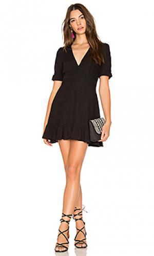 Мини-платье stevie AUGUSTE. Цвет: черный
