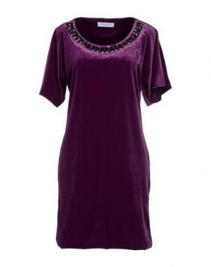Короткое платье ANNA RACHELE. Цвет: фиолетовый