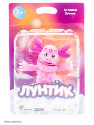 Веселый Лунтик  серия и его друзья ProstoToys. Цвет: розовый, белый, черный