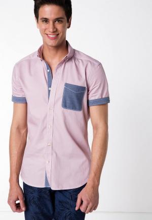 Рубашка DeFacto. Цвет: розовый