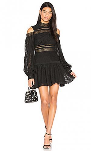 Платье barton Acler. Цвет: черный