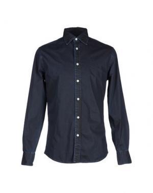 Джинсовая рубашка DEPERLU. Цвет: синий