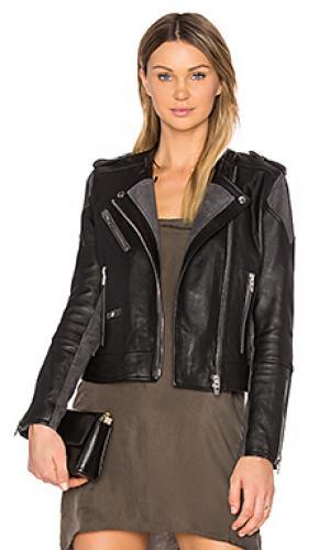 Мото куртка BLANKNYC. Цвет: черный
