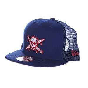 Бейсболка  Pirate New Era Roy Blue Fourstar. Цвет: синий