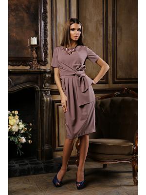 Платье Bezko. Цвет: сиреневый