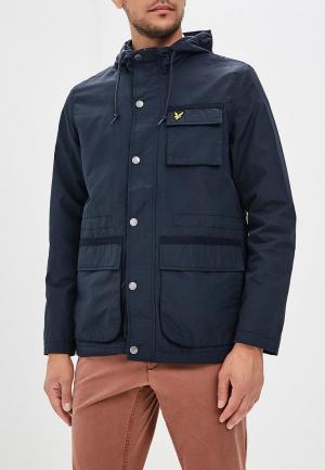 Куртка Lyle & Scott. Цвет: черный