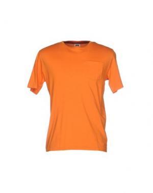 Футболка VINTAGE 55. Цвет: оранжевый