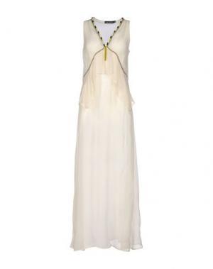 Длинное платье ANTIK BATIK. Цвет: бежевый