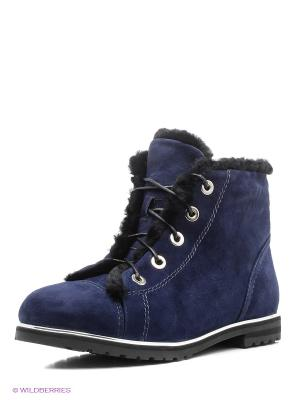 Ботинки ELCHE. Цвет: синий