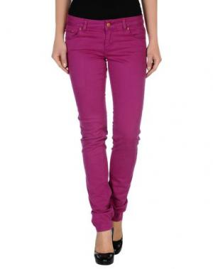 Повседневные брюки ENTRE AMIS. Цвет: фиолетовый