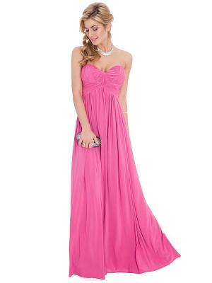 Платье Goddess London. Цвет: розовый