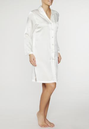 - Seduzione Di Seta Шелковая ночная рубашка Цвет шампанского Gattina