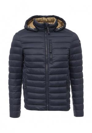 Куртка утепленная Puffa. Цвет: синий