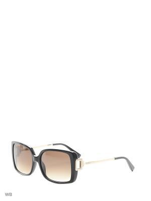 Солнцезащитные очки TO 0114 01F Tod's. Цвет: черный, золотистый