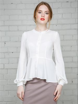 Блузка Julia Ivanova. Цвет: белый