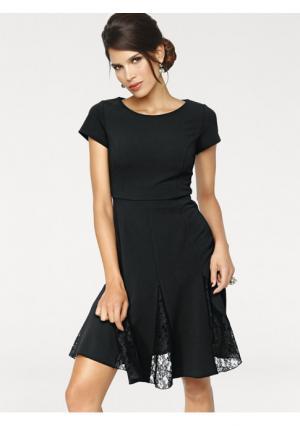Платье Ashley Brooke. Цвет: черный