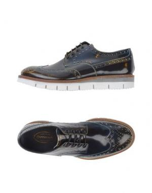 Обувь на шнурках BARRACUDA. Цвет: темно-синий
