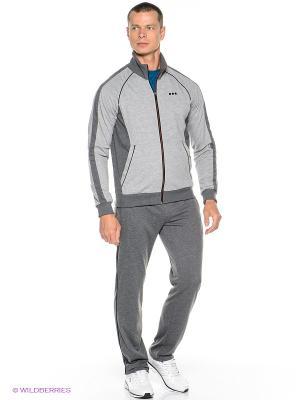 Спортивный костюм ADDIC. Цвет: серый