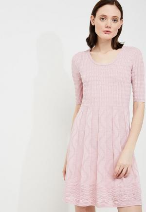 Платье M Missoni. Цвет: розовый