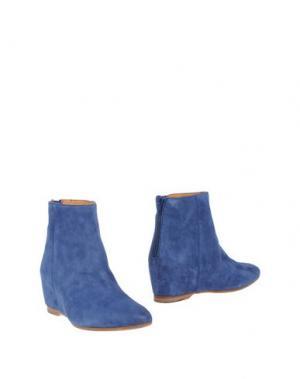 Полусапоги и высокие ботинки SARTORI GOLD. Цвет: грифельно-синий