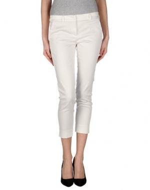 Джинсовые брюки TWELVE-T. Цвет: белый