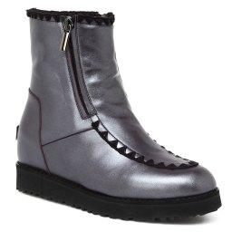 Ботинки  U287 темно-фиолетовый RENDEZ-VOUS BY GIORGIO FABIANI