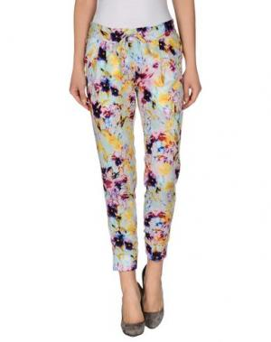 Повседневные брюки SACHIN & BABI. Цвет: светло-зеленый