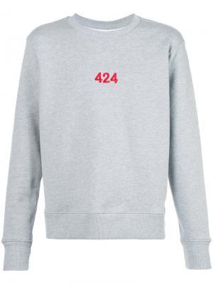 Толстовка Alias 424 Fairfax. Цвет: серый