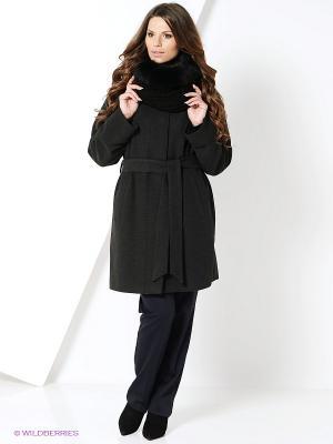 Пальто Electrastyle. Цвет: серый меланж