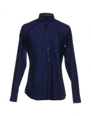 Pубашка CALIBAN. Цвет: темно-синий