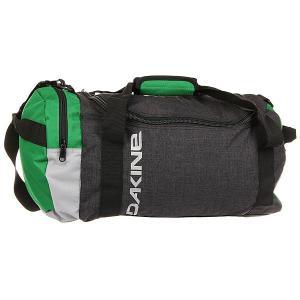 Сумка спортивная  Eq Bag Augusta Dakine. Цвет: зеленый,темно-серый