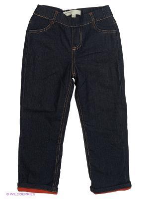 Утепленные джинсы Modis. Цвет: темно-синий, светло-голубой