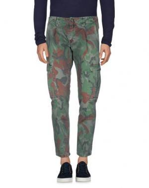 Джинсовые брюки (M) MAMUUT DENIM. Цвет: темно-синий