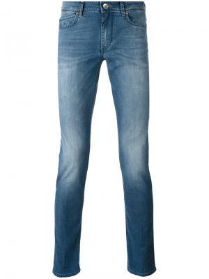 Выбеленные джинсы Rubens Re-Hash. Цвет: синий