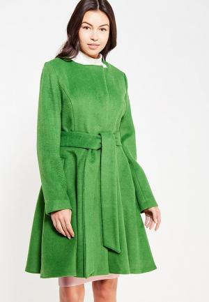 Пальто Tutto Bene. Цвет: зеленый