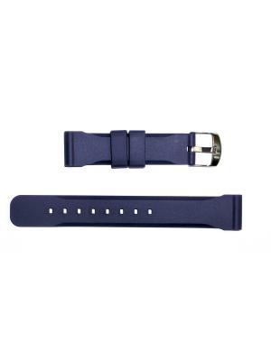 Ремень для часов 18 мм.  J.A.WILLSON J.A. Willson. Цвет: синий