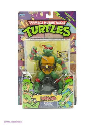 Фигурка Черепашка-ниндзя Рафаэль Playmates toys. Цвет: зеленый