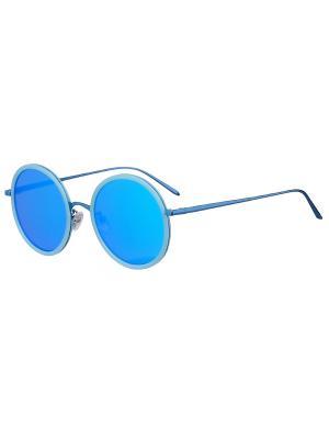 Очки солнцезащитные Модные истории. Цвет: серебристый