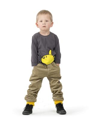 Брюки Супер-штоны Sardina Baby. Цвет: горчичный, желтый
