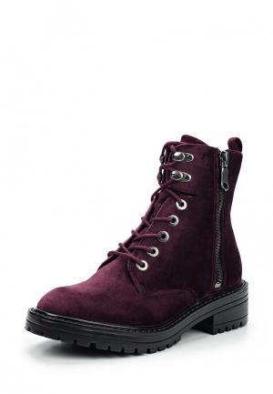 Ботинки s.Oliver. Цвет: фиолетовый