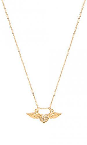 Ожерелье amante Vanessa Mooney. Цвет: металлический золотой