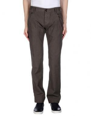 Повседневные брюки DATCH. Цвет: зеленый-милитари